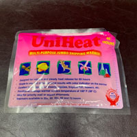 UniHeat 60+ Hour Disposable Heat Packs HP72